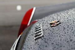 Schließen Sie oben von einer Weinlese Ferrari Lizenzfreies Stockbild