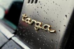 Schließen Sie oben von einer Weinlese Porsche Targa Lizenzfreies Stockfoto
