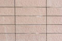 Schließen Sie oben von einer Ziegelsteinwand, Beschaffenheitshintergrund Stockfotografie