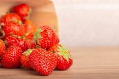 Schließen Sie oben von Erdbeere-` s stockbilder
