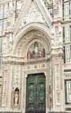 Schließen Sie oben von Florenz-Kathedrale Santa Maria del Fiore, Italien Lizenzfreie Stockfotos