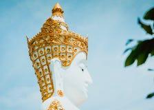 Schließen Sie oben von großer Buddha-Statue stockbild