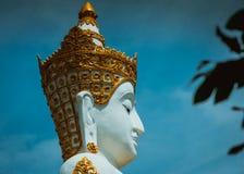 Schließen Sie oben von großer Buddha-Statue lizenzfreies stockfoto