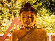 Schließen Sie oben von großer Buddha-Statue lizenzfreie stockbilder