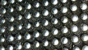 Schließen Sie oben von LED-Leuchte stockbild