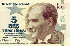 Schließen Sie oben von neuem Geld Zeitlimit-5 Stockbilder