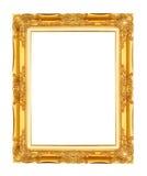 Schließen Sie zusätzliches Format ENV ein (Adobe-Illustrator) Gold/vergoldete Künste und macht MusterBilderrahmen in Handarbeit Stockbilder