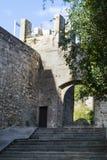Schließendes Mönchkloster von Pedralbes stockfotografie