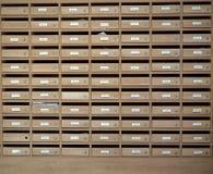 Schließfach im Kondominium lizenzfreie stockfotografie