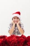 Schließlich - Weihnachten ist hier Stockbild