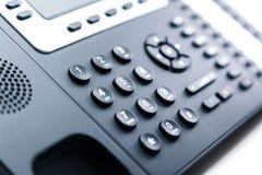 Schließen Sie oben - Telefontastatur stockbild