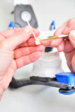 Schließen Sie herauf Zahn-Hygieniker Lizenzfreie Stockfotos