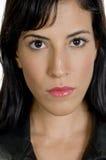 Schließen Sie oben vom weiblichen Gesicht Lizenzfreies Stockfoto