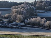 Schlieraukapelle Krotenseer Forst, Neuhaus en der Pegnitz fotografering för bildbyråer