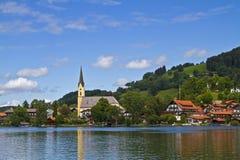 Schliersee. Oberbayrischer ort am gleichnamigen See stock photo