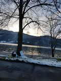 Schliersee Oberbayern Στοκ φωτογραφία με δικαίωμα ελεύθερης χρήσης