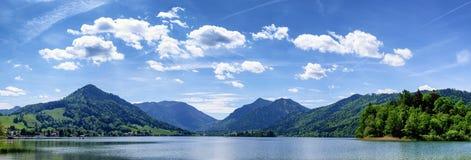 Schliersee sjö Arkivbild