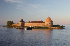 Schlisselburg-Festung auf der Wolga Lizenzfreie Stockbilder