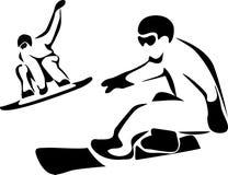 Schlittschuhläufer Lizenzfreie Stockfotos
