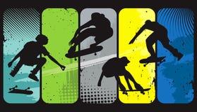 Schlittschuhläufer stock abbildung