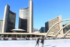 Schlittschuhläufer in Toronto Lizenzfreie Stockfotos