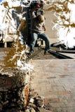 Schlittschuhläuferjunge Lizenzfreies Stockfoto