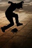 Schlittschuhläufer Stockfoto