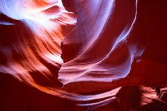 Schlitzschlucht in Arizona Lizenzfreie Stockbilder