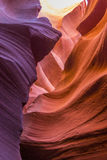 Schlitzschlucht in Arizona Stockbilder