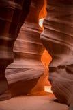 Schlitzschlucht in Arizona Stockfotos