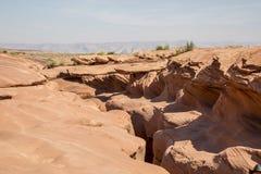 Schlitzschlucht in Arizona lizenzfreie stockfotos
