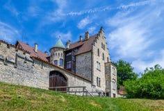 Schloss利希滕斯泰因城堡 免版税图库摄影