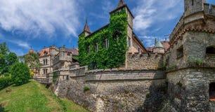 Schloss利希滕斯泰因城堡 库存照片