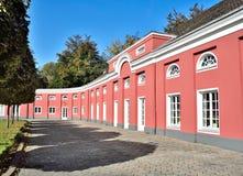Schloss奥伯豪森侧视图  库存照片