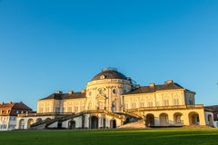 Schloss孑然, Baden-Württemberg 免版税库存照片