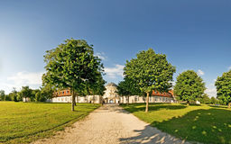 Schloss孑然 免版税库存图片