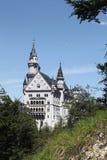 Schloss新天鹅堡,巴伐利亚 免版税库存图片