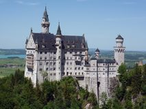 Schloss新天鹅堡,巴伐利亚 库存图片