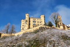 Schloss замка Hohenschwangau стоковые изображения