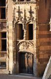 Schloss Ainay-Le-Vieil Stockfotos