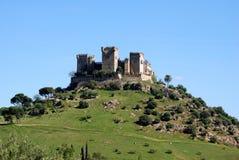 Schloss, Almodovar del Rio, Spanien. Lizenzfreie Stockfotos