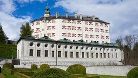Schloss Ambras στο Ίνσμπρουκ στοκ εικόνα με δικαίωμα ελεύθερης χρήσης