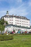 Schloss Ambras Castle in Innsbruck, Austria Royalty Free Stock Photography