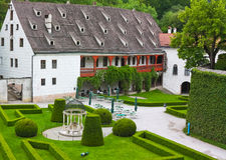 Schloss Ambras près d'Innsbruck, Autriche Photo libre de droits