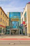 Schloss Arkaden mall in Heidenheim an der Brenz, pedestrian area Royalty Free Stock Photos