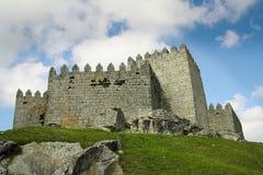 Schloss auf dem Himmel Stockfotos