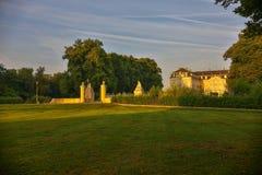 Schloss Augustusburg Brà ¼ hl Niemcy Obraz Royalty Free