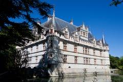 Schloss Azay-Le-Rideau stockfotografie