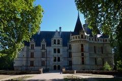 Schloss Azay-Le-Rideau lizenzfreie stockfotografie