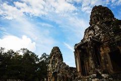 Schloss Banteay Srei lizenzfreie stockfotografie